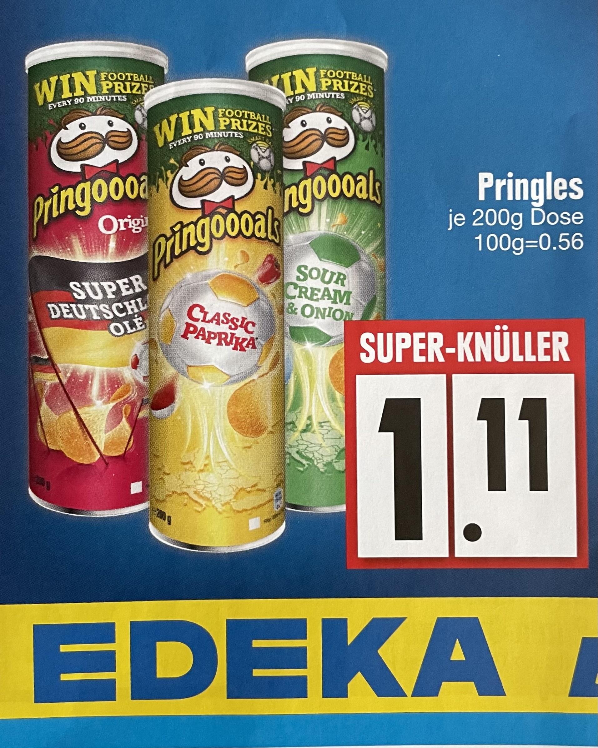 EDEKA - Pringles verschiedene Sorten für 1,11€ (Lokal / 84109 Wörth)