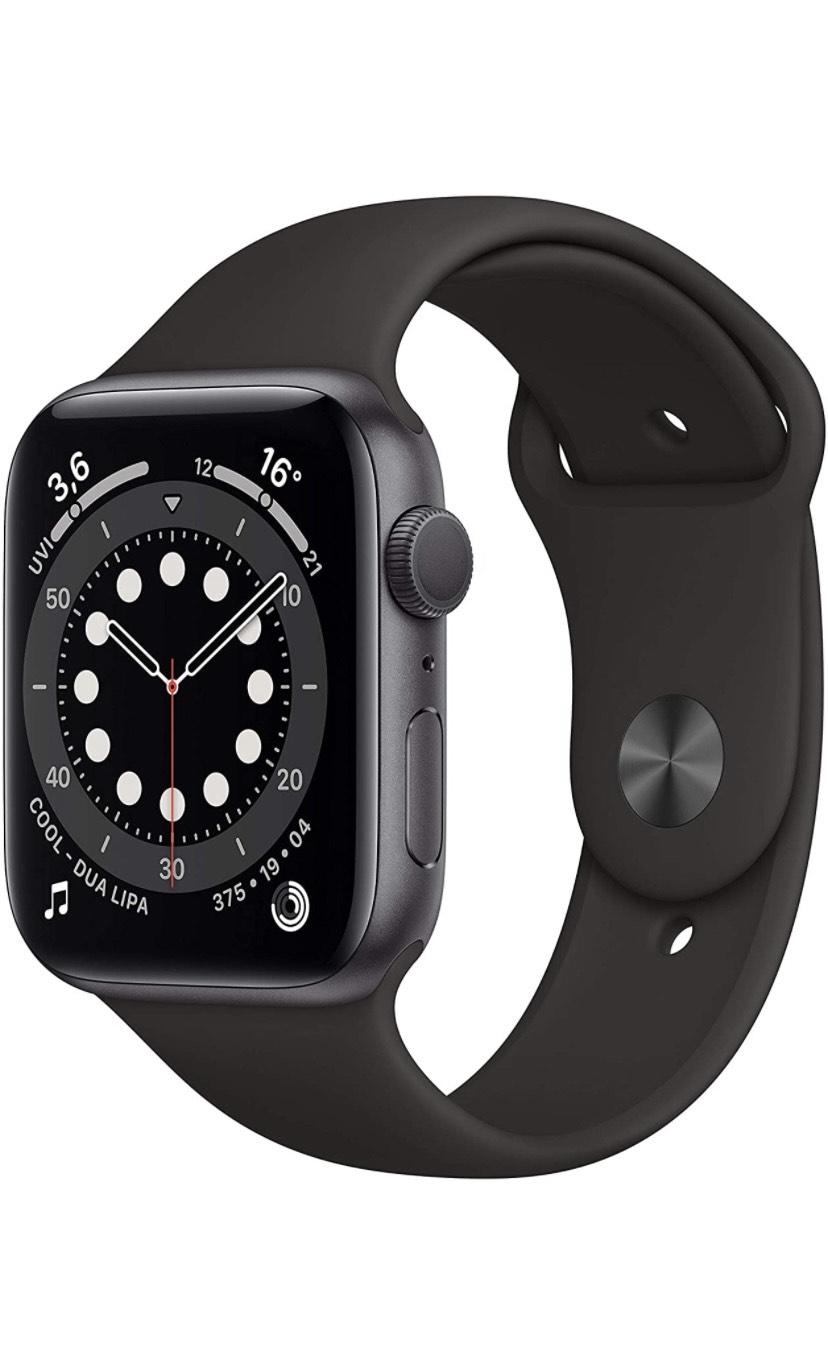 [Prime] Apple Watch Series 6 | Space Grau | 44mm | Aluminium | GPS