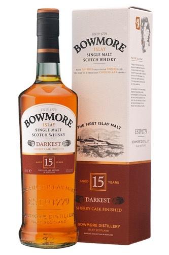 Bowmore 15 The Darkest Whisky
