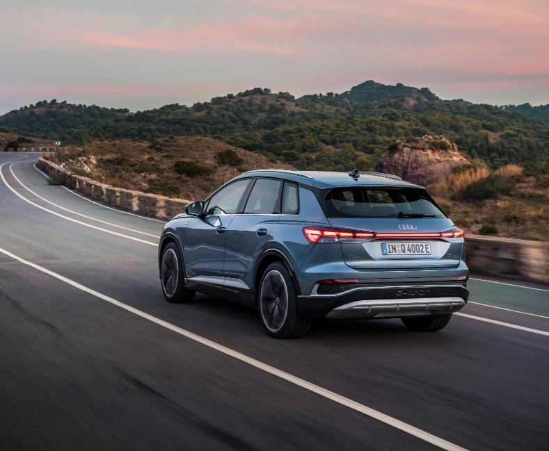 Gewerbeleasing: Audi Q4 e-tron (Bafa) / 170 PS, 55 kWh (konfigurierbar) für 119€ netto monatlich - LF:0,34