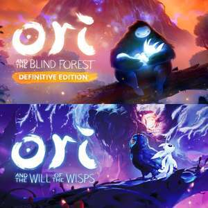 [Ori: The Collection] Ori and the Blind Forest: Definitive Edition + Ori and the Will of the Wisps [Xbox & PC · Microsoft Store Island]