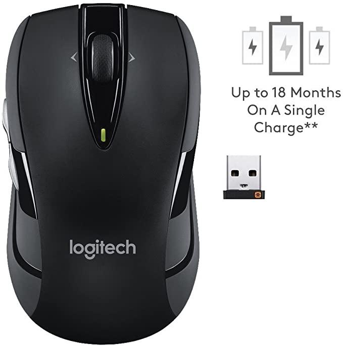 Logitech M545 Kabellose Maus mit 2 Extra-Daumentasten 1000 DPI Optischer Sensor bis zu 18-Monate Akkulaufzeit für 29,99€ inkl. Versandkosten