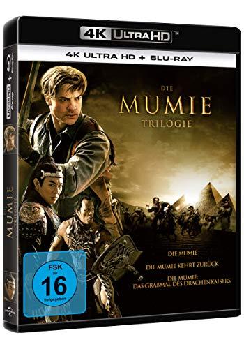 [Amazon.de] Die Mumie - Trilogie 4K UHD Blu-ray (Die Mumie / Die Mumie kehrt zurück / Die Mumie: Das Grabmal des Drachenkaisers) für 34,97€