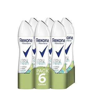 "Amazon Prime: 6 x 200ml Rexona Deo ""stay fresh"" motion sense , Einzelpreis: 1,56 €"