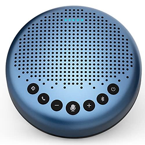 Kopf qualmt im Homeoffice? Speakerphone eMeet Luna Lite - 3 Mikros, Geräuschunterdrückung, USB-C, Bluetooth, Freisprecheinrichtung, Akku