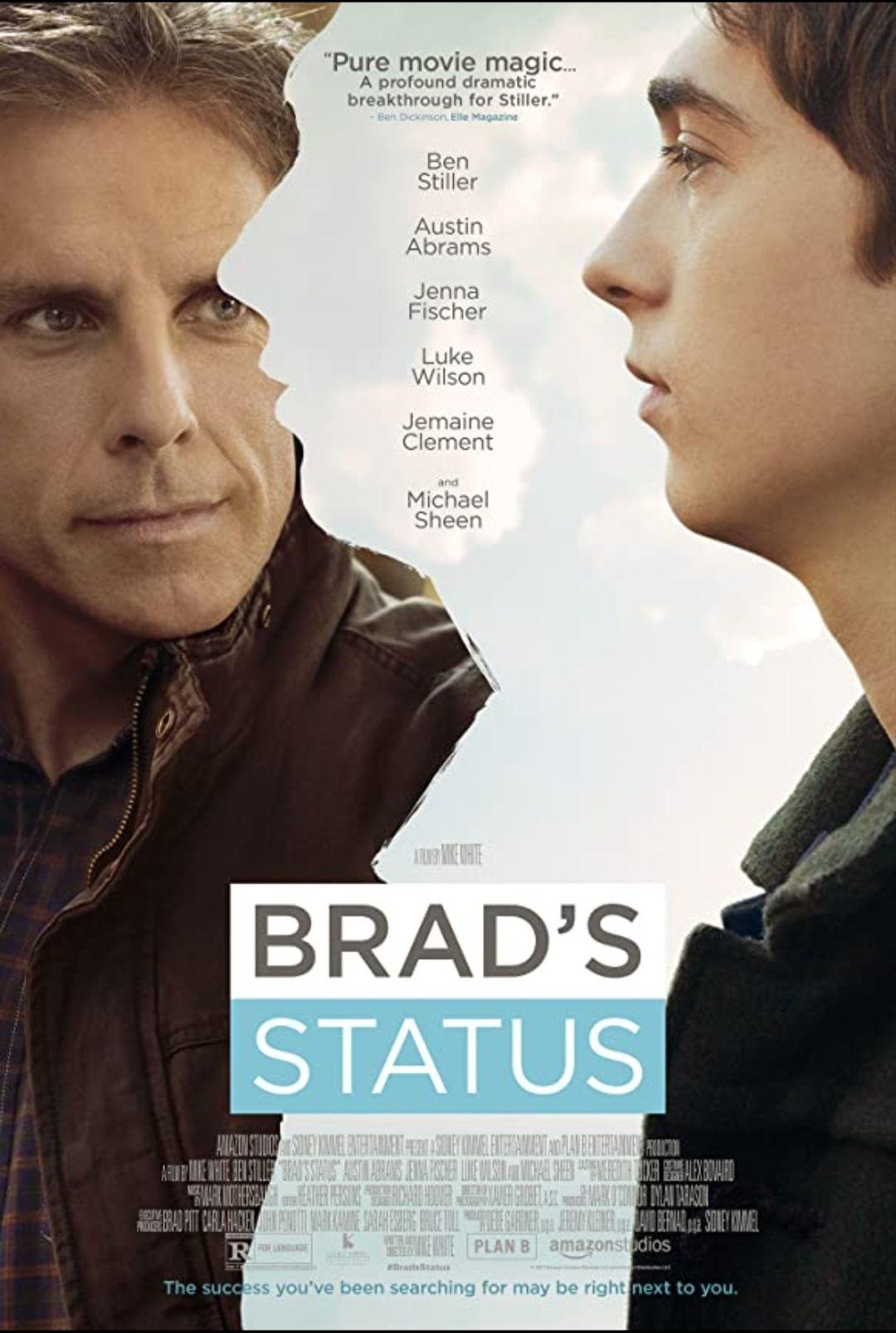 """[Servus TV Mediathek] """"Im Zweifel glücklich - Brad's Status"""" mit Ben Stiller, Luke Wilson und Martin Sheen kostenlos streamen [IMDb 6.5]"""