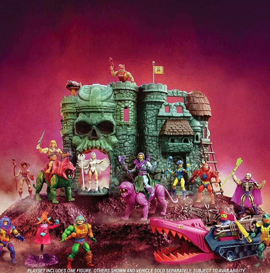 Masters of the Universe - Origins Castle Grayskull Playset (GXP44), Motu, He-Man