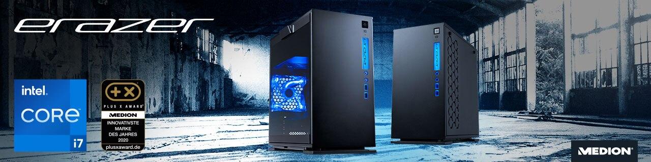 Gaming PC mit RTX 3070 und Intel I7-11700 von Medion
