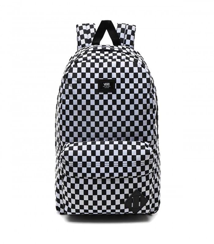 Prime // Vans Old Skool III Backpack black-white check