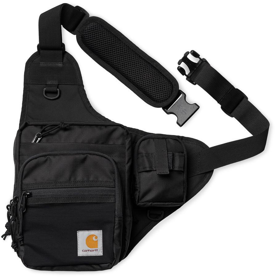 Carhartt WIP Delta Shoulder Bag in schwarz