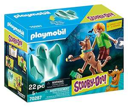 Playmobil Scooby-Doo! - Scooby und Shaggy mit Geist (70287) für 8,61€ (Amazon Prime)