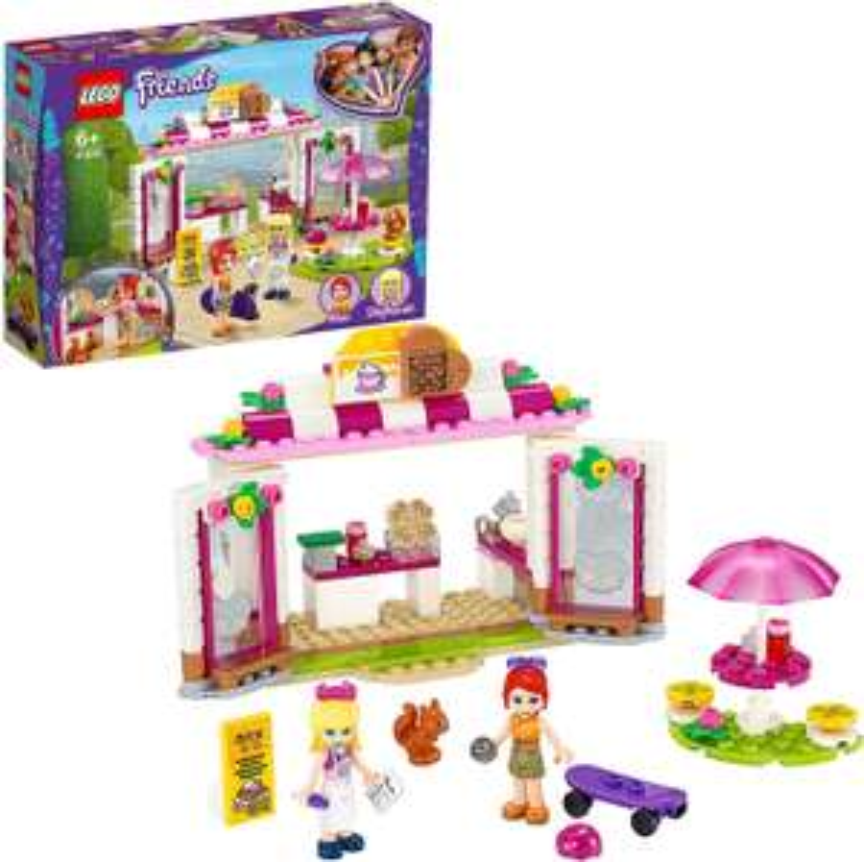 LEGO 41426 Friends Heartlake City Waffelhaus, Spielset mit Eisdiele und Mini Puppe Stephanie [Amazon Prime Marketplace]