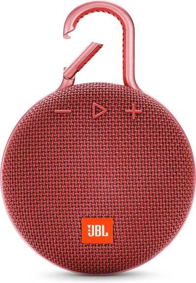 JBL Store: JBL Clip 3 Rot kostenlos dazu bei Kopfhörer über 119€ Warenwert: zB JBL Reflect Mini NC + JBL Clip 3 Rot für 122€ statt 149€