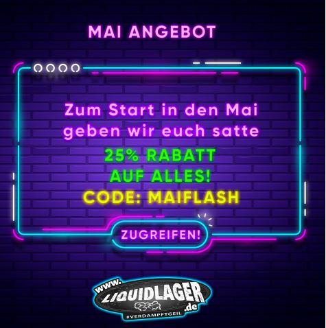 Liquidlager.de: 25% auf ALLES