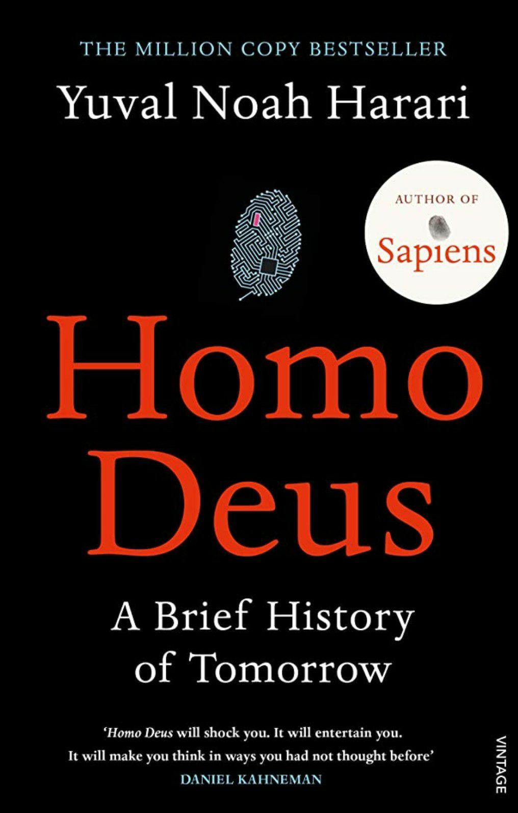 Homo Deus A Brief History of Tomorrow von Yuval Noah Harari