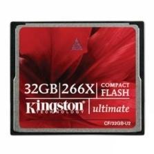 Kingston 32GB CompactFlash Ultimate 266 X High Speed Speicherkarte für 24,69€ @Zoombits