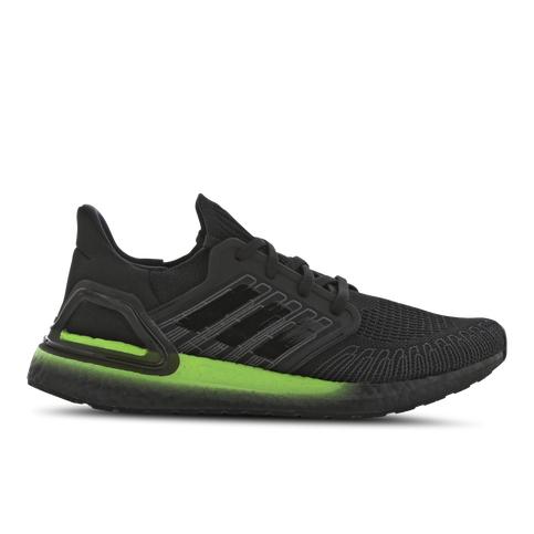 Adidas Ultraboost 20 Core Black / Core Black / Signal Green (aktuell noch Gr. 40, 41 1/3)