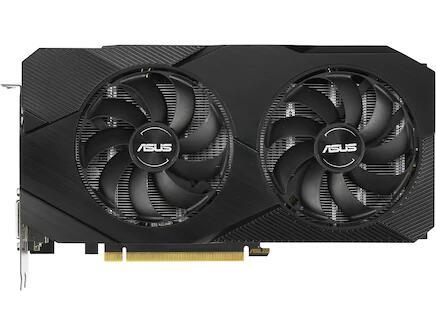 ASUS GeForce DUAL GTX1660S O6G EVO