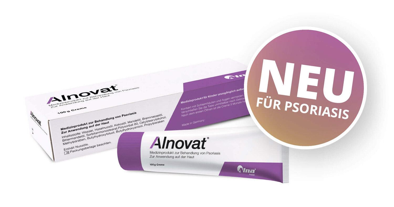 [ Freebie ] Alnovat Psoriasis Creme - vollwertige 30g Tube (keine Probe) kostenlos testen