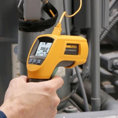[amazon prime] FLUKE Infarot-Thermometer -40 bis +800°C IR- und Kontakt