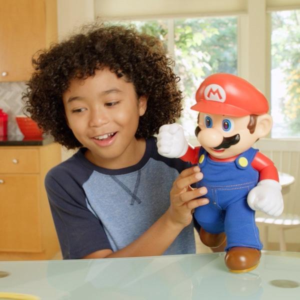 [Smyths Toys] It's-A Me! Mario Figur ca. 30 cm