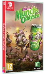 Oddworld: Munch's Oddysee Switch Amazon Prime