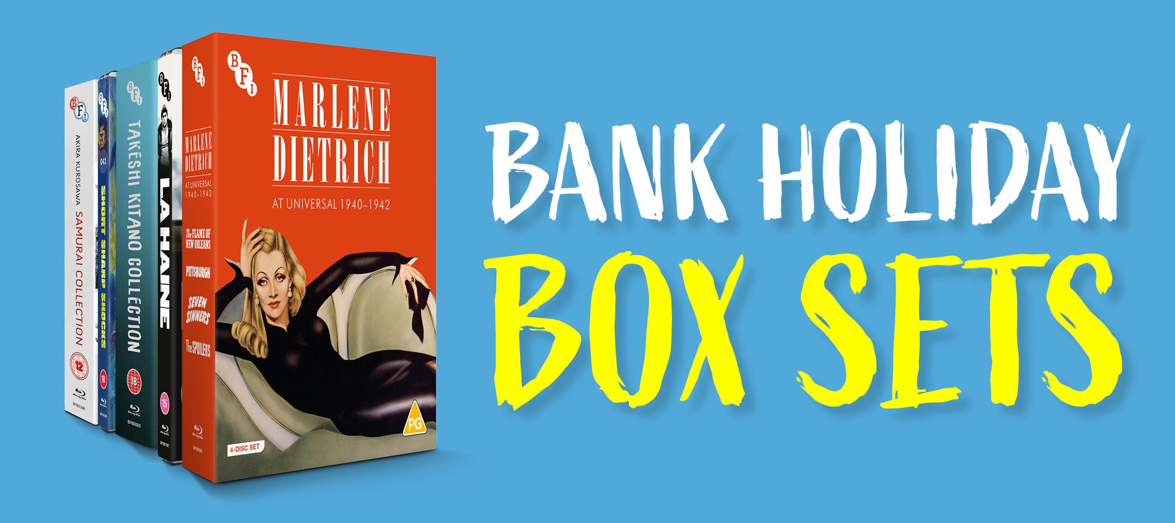 BFI Bank Holiday Box Sets Sale (u.a. Herzog, Akira Kurosawa, Dietrich)
