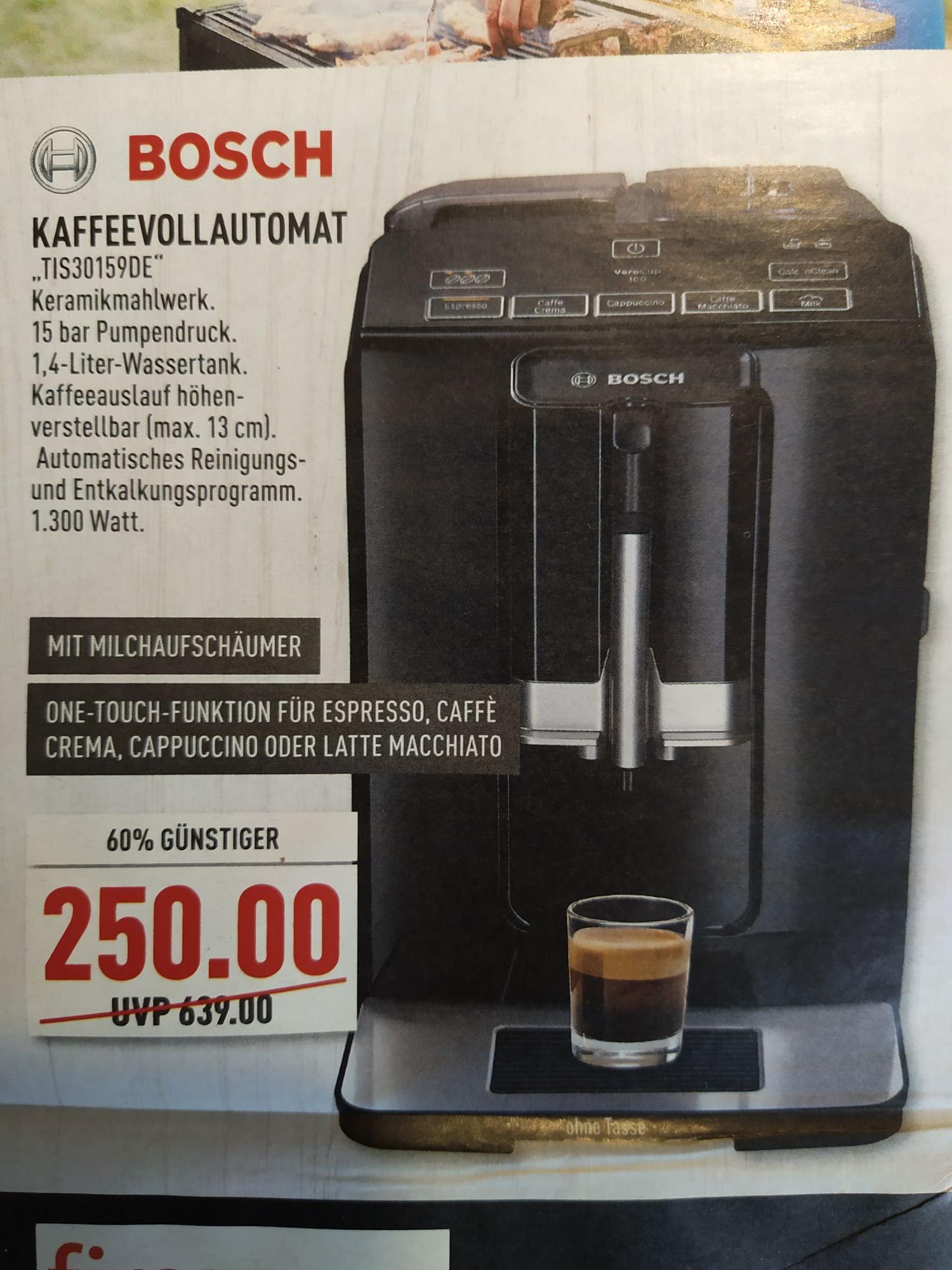 [lokal Greven] Bosch Kaffeevollautomat TIS30159DE