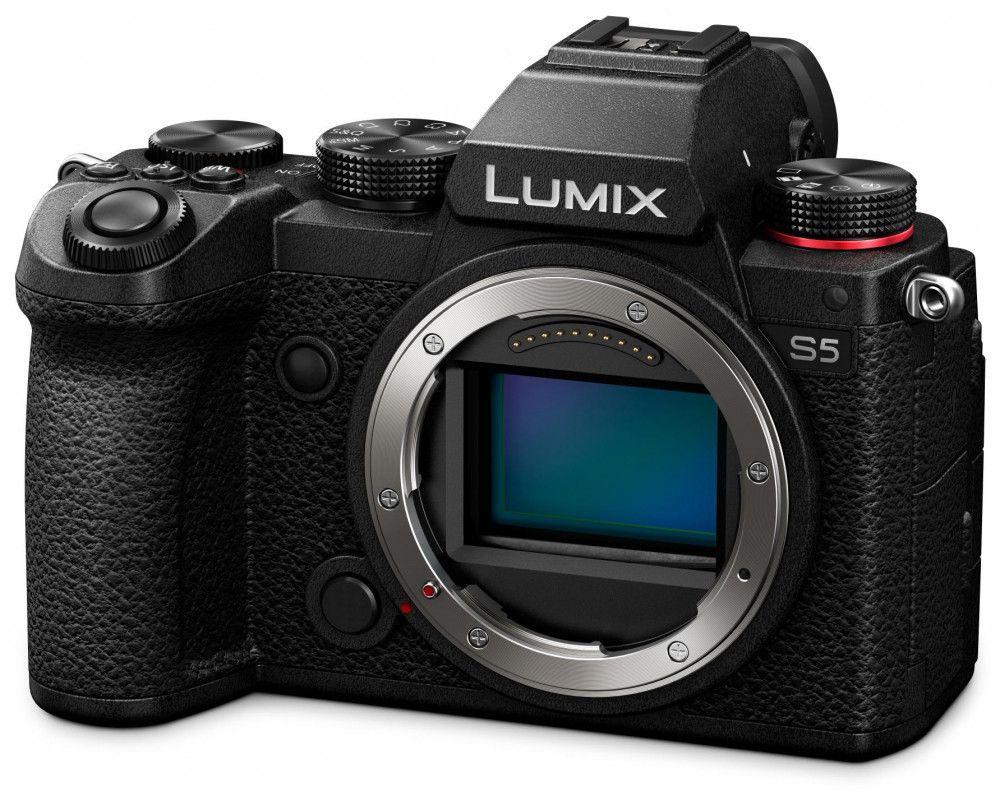 Panasonic Lumix S5 Systemkamera inkl. Atomos Ninja V, Power Kit, 8Sinn Cage,... | Photo Denfert FR