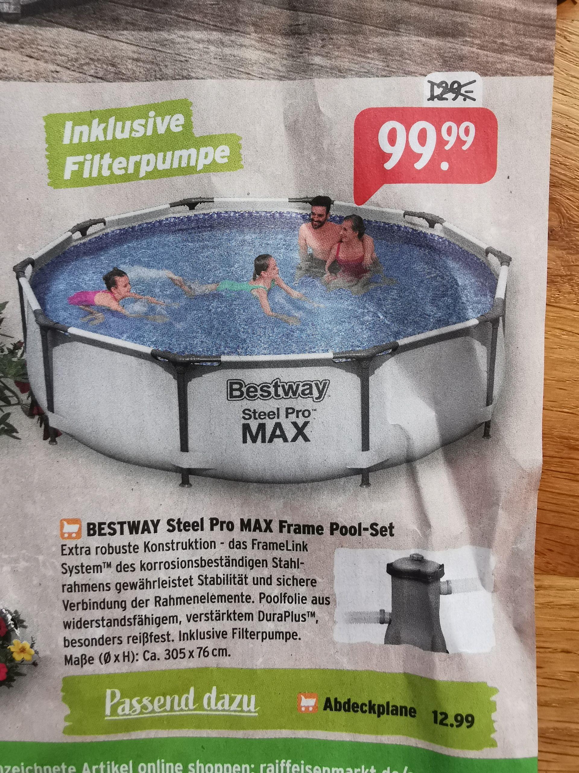Bestway Steel Pro max Pool 305x76cm