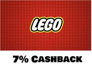 Shoop: 7% Cashback im Lego Shop