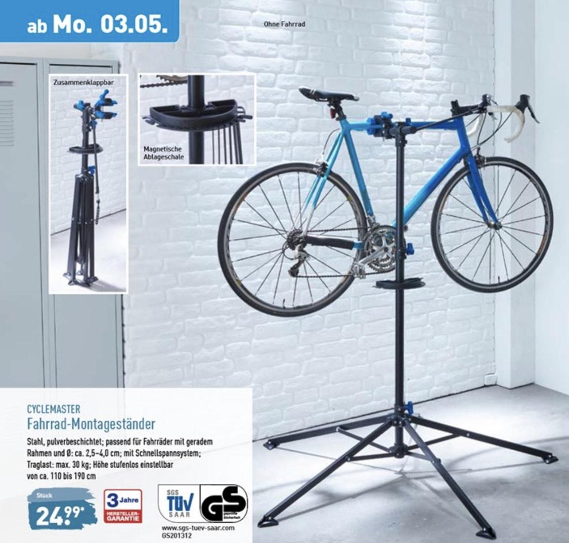 (Aldi Nord) CYCLEMASTER Fahrrad-Montageständer