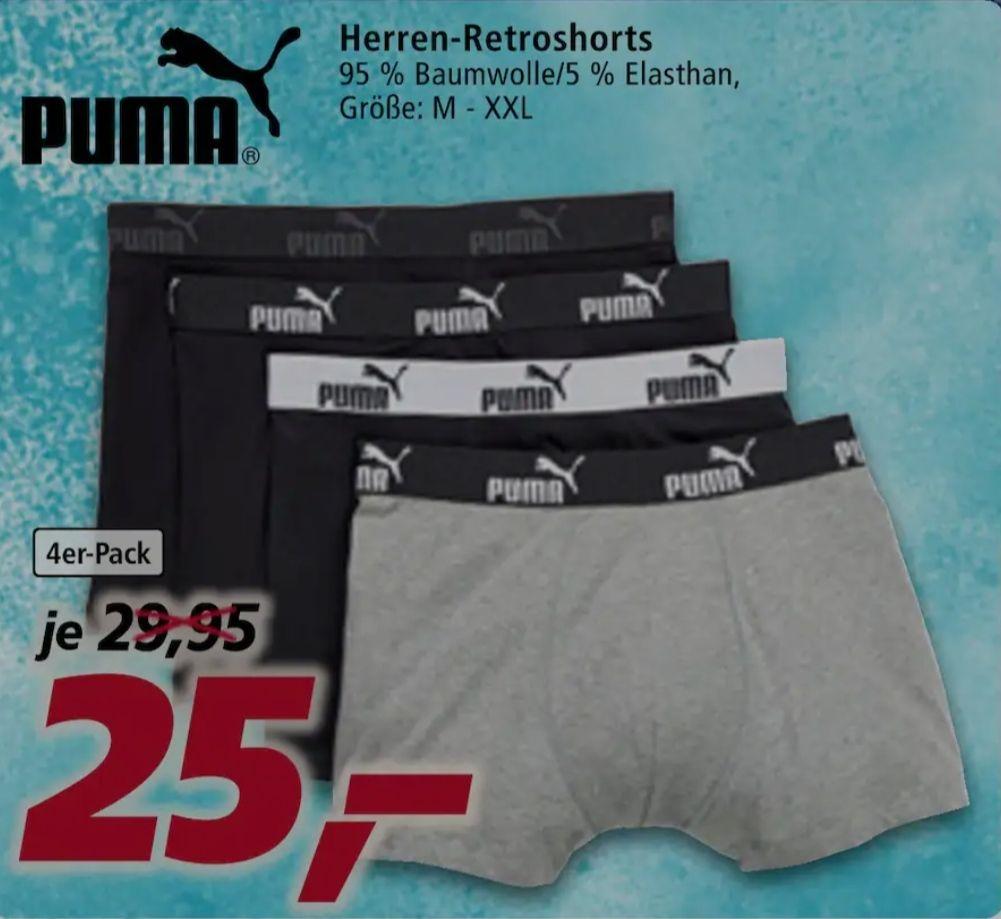 [real family&friends] 4er-Pack Puma Boxershorts für 15€, nur am 03.05.21