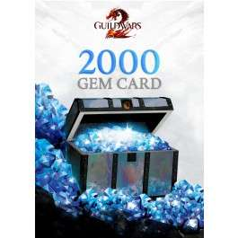 Guild Wars 2 Gem Card 2000 Punkte mit 20% Rabatt für 20 Euro, Path of Fire mit 50% Rabatt
