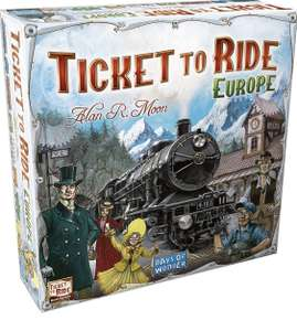 [Prime] Ticket to Ride Europe Brettspiel Zug um Zug Engl.