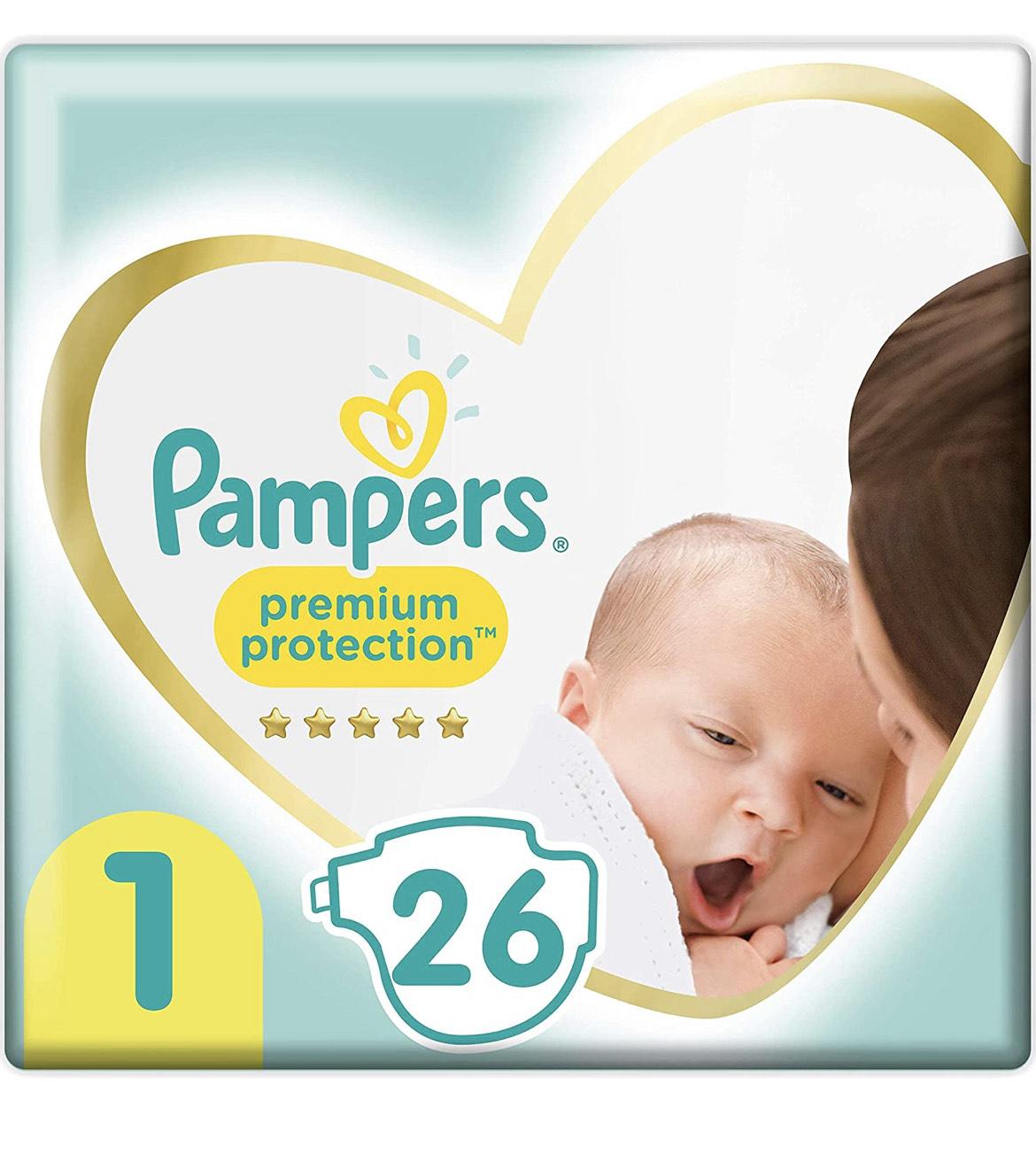 Pampers Größe 1 Baby Windeln, 26Stk (2-5kg)