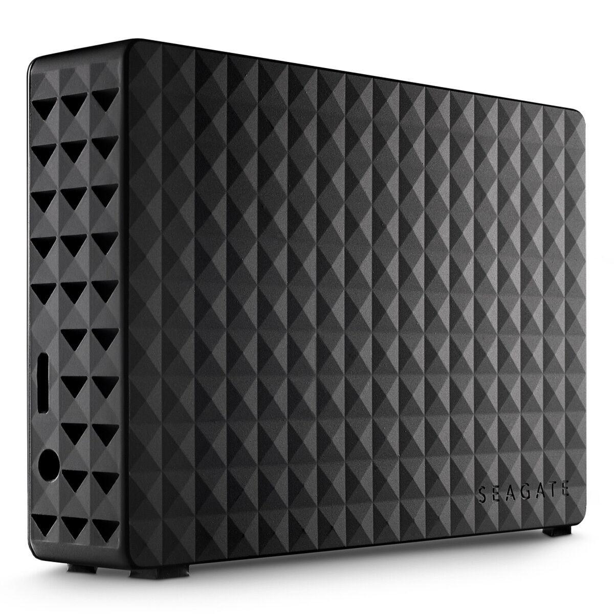 Seagate Expansion Desktop 12TB Schwarz - externe Festplatte, USB 3.0