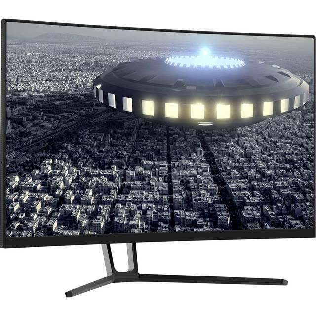 LC Power LC-M27-QHD-144-C Gaming Monitor 68.6 cm (27 Zoll) EEK G (A - G) 2560 x 1440 Pixel QHD 144hz