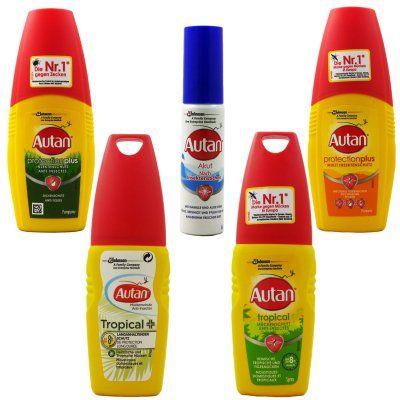 *Sammeldeal* Autan Mücken-/Zecken-/Insektenspray viele verschiedene bis zu 58% reduziert - Prime*Sparabo