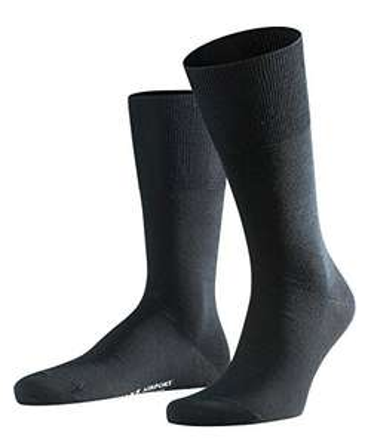 Falke Airport Socken in schwarz (Prime)