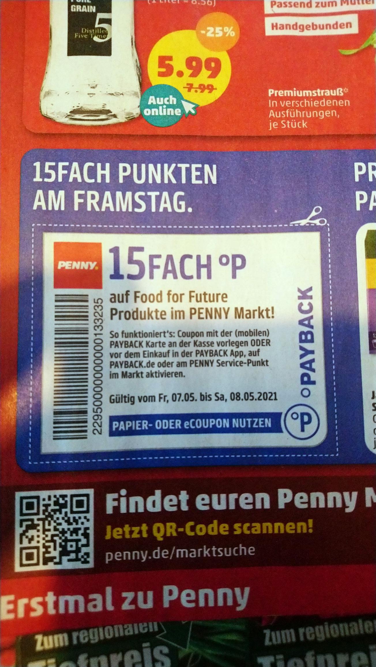 Penny 10-/15fach Payback auf Blumen & Pflanzen (vom 03. Mai bis 08.Mai)
