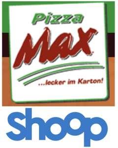 30% Cashback bis max. 49,99€ bei Pizza Max Lieferservice in Hamburg, Berlin, Potsdam, Lübeck, Kiel [Shoop]