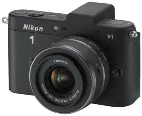 Nikon 1 V1 Schwarz KIT Systemkamera inkl. NIKKOR VR 10-30mm für nur 209,- EUR inkl. Versand