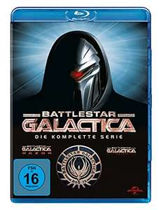[media-dealer] Battlestar Galactica - Die komplette Serie (Staffel1-4) + Razor + The Plan | Blu-ray | 8,7@IMDB