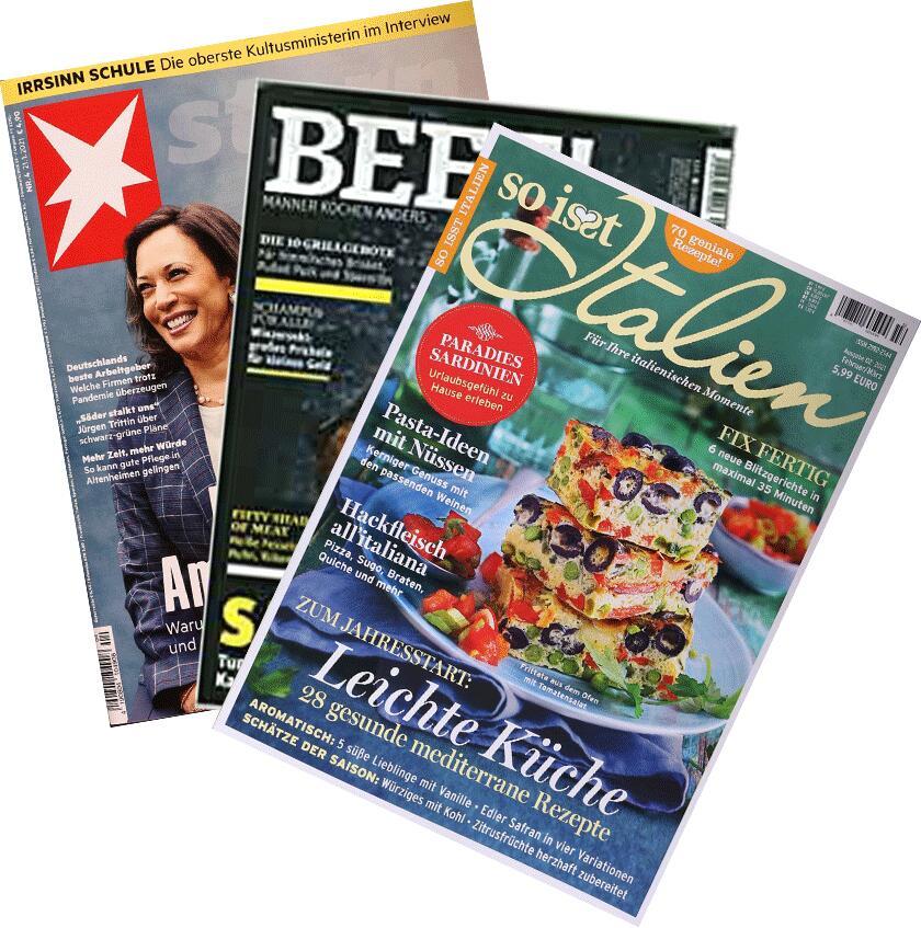 1 Ausgabe von Stern/Beef/So isst Italien gratis abstauben (Epaper)