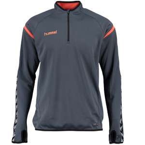 Hummel 1/4-Zip Kinder Trainingsoberteil Authentic Charge für 5,55€ + 3,95€ VSK (Größe 116 - 176) [SportSpar]
