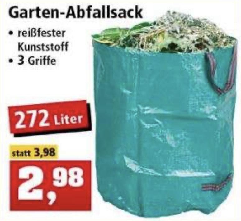[Thomas Philipps] Gartenabfallsack Kunststoff 272 Liter 50 kg