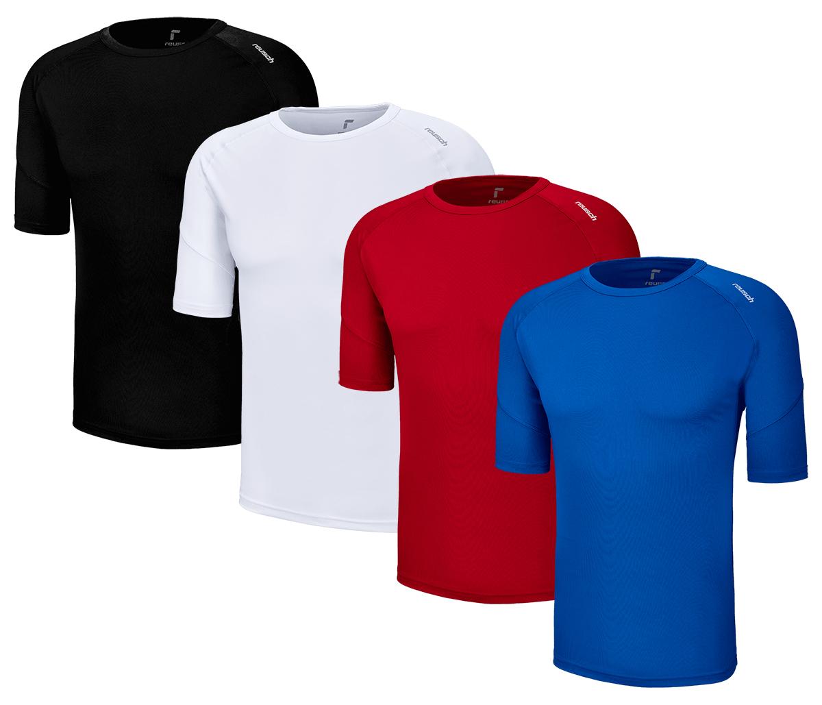Reusch Funktionsshirts in 4 Farben im 3er (24,95€) & 5er Pack (33,95€) - Größen S bis 3XL