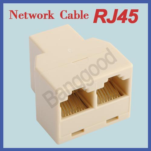 (CN) RJ45 LAN  Y-Verteiler für 1,25€ @ Ebay
