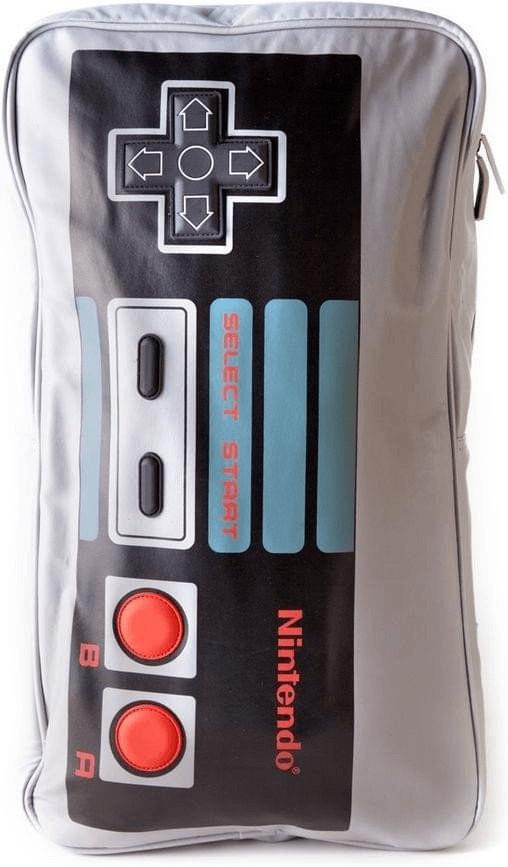 Nintendo, Rucksack, BIG NES Controller, Farbe grau